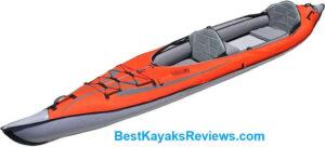 Advanced Elements AdvancedFrame Convertible Elite Inflatable Kayak