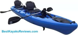 BKC PK 14 14 Tandem Sit on Top Pedal Drive Kayak