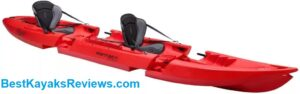 Point 65 Tequila GTX Tandem RED Fishing Kayak