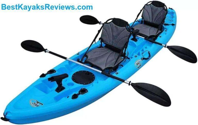BKC TK219 12.2 Tandem Fishing Kayak