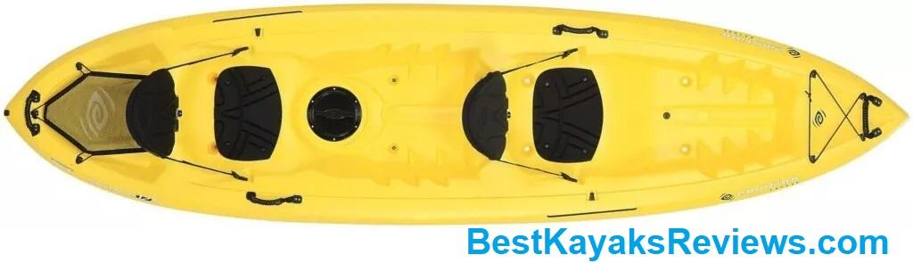 Emotion Spitfire Tandem Sit-On-Top Kayak