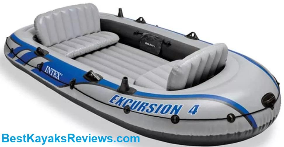 QERNTPEY-ST Kayak Drifter Four-Person Inflatable Kayak