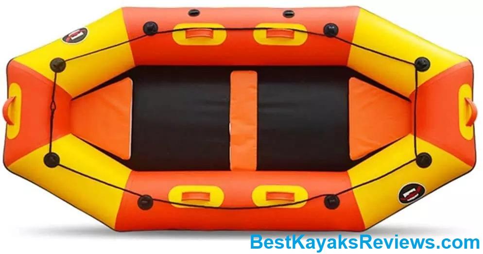 QERNTPEY-ST Kayak Professional Drift Boat Thickened Leather Kayak