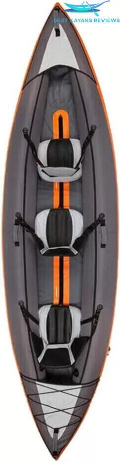 BKC PK14 14' Tandem Sit On Top Pedal Drive Kayak
