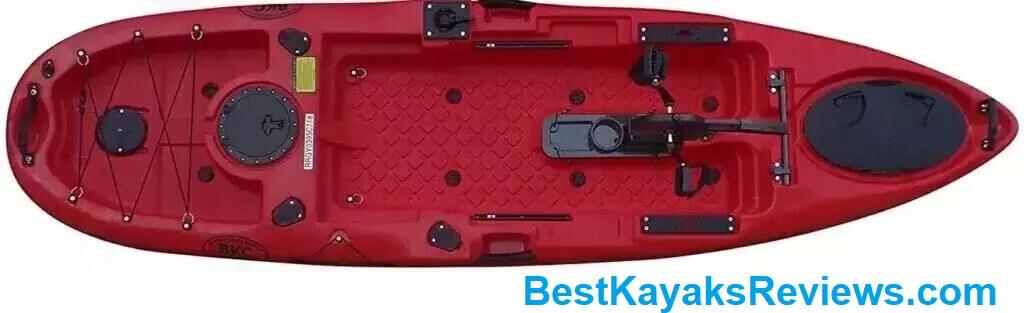 BKC PK11 Angler 10.5 Fishing Kayak