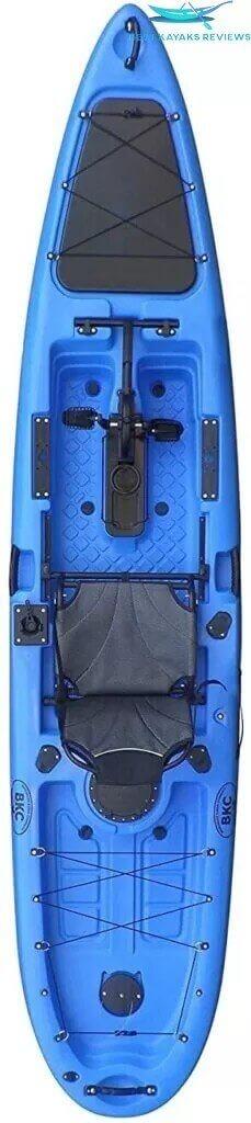 BKC PK13 13 Inches Pedal Drive Fishing Kayak