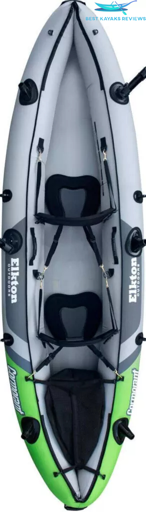 Elkton Outdoors 2 Person inflatable Kayak