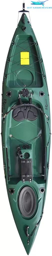 Riot Kayaks Escape 12 Angler Kayak