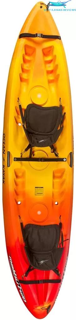 Ocean Kayak Malibu Tandem Sit-On-Top Recreational Kayak