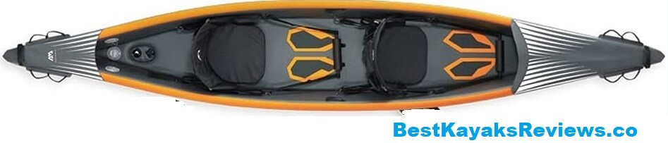 LANGWEI Inflatable Boat 2 Person touring kayak